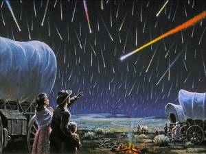 Meteor Shower 1833