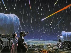 Meteor Shower 1833